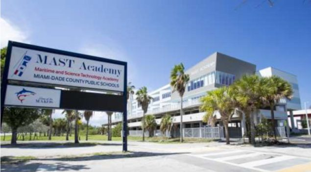 MAST Academy @ Key Biscayne receives national recognition