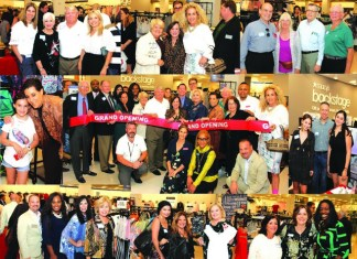 Macy's BACKSTAGE ribbon-cutting /grand opening