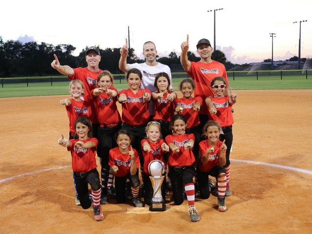 Miami Stingrays 10U Black team South Florida state champions