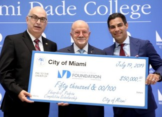 Eduardo J. Padrón Scholarship Fund to support MDC students