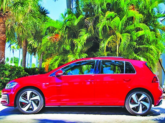 VW Golf GTI Autobahn is a hot compact with upscale interior