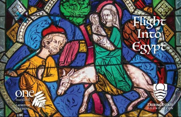 Pre-17th Century stained glass panels restored for display at Deering Estate