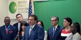 Greater Miami Chamber hosts governor's announcement regarding business reform