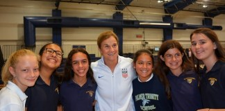 Palmer Trinity hosts FIFA Women's World Cup champion coach Jill Ellis