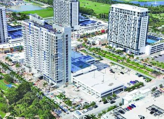 5350 Park condo tower at Downtown Doral is a big seller