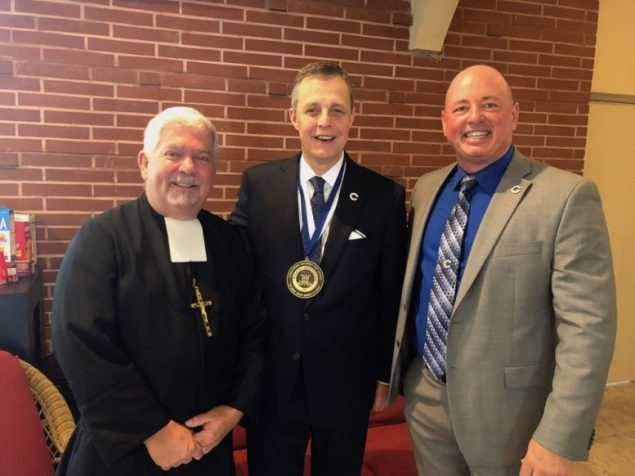 Kruczek installed as president of Christopher Columbus High