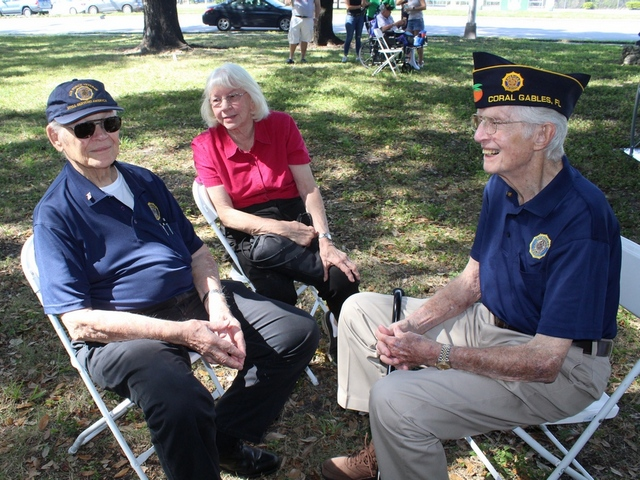 Members of Gables Post 98 attend Veterans Day Picnic