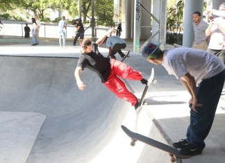 Lot 11 Skate Park opens in former municipal parking lot