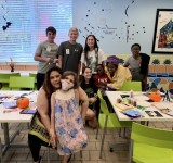 WCS students host craft day for pediatric cancer patients