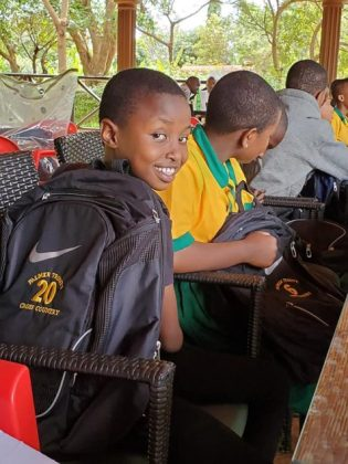 PTS Middle School Afrikids Club conducts used backpack drive
