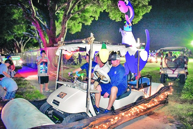 Town hosts annual Holiday Golf Cart Parade, Toy Drive