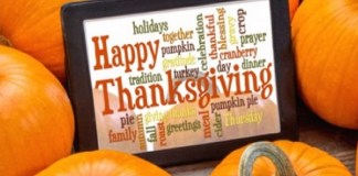 Time to Celebrate and Give Thanks