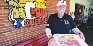 The full flavor of experience and passion is at The Big Cheese