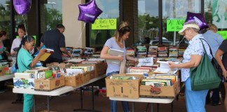 The annual book sale benefiting Brandeis University, Mar. 28-29