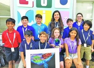 Gulliver students win 1st Place at Pinecrest Gardens