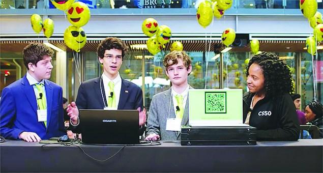 Gulliver Prep students develop stock market app