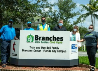 BrightView Landscapes' awards grant to Branches in South Dade
