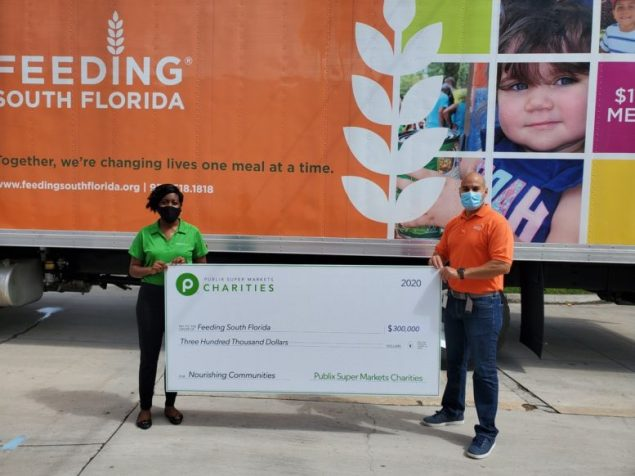 Feeding South Florida receives $300K from Publix Super Markets Charities