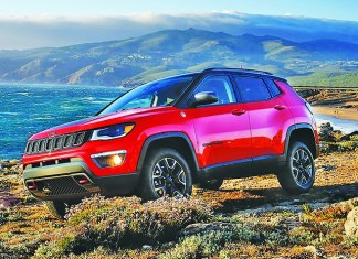 2020 Jeep Compass 4X4 us a crossover I can get behind