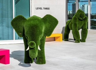 A Magical Menagerie: Discover the LEVEL THREE Topiary Garden at Aventura Mall