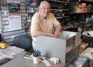 Paul Conner is keeping his love of model trains alive