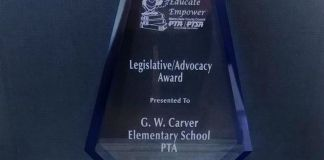 Carver Elementary parents honored for fight against WAWA gas station