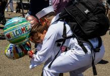 Sailor returns after ship completes deployment