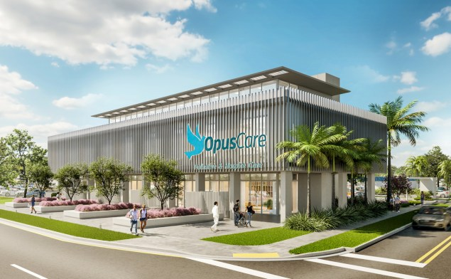 OpusCare of Florida lays the foundation stone for the region's first free-standing hospice unit