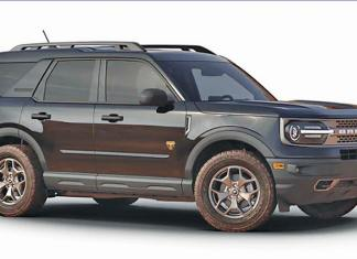 2021 Bronco Sports Badlands 4x4 is a great ride