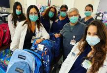 Mercy Hospital's staff takes time to help local students