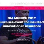DIA Munich 2017, meeting mundial de INSURTECH