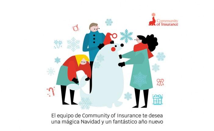 El equipo de Community of Insurance de celebración