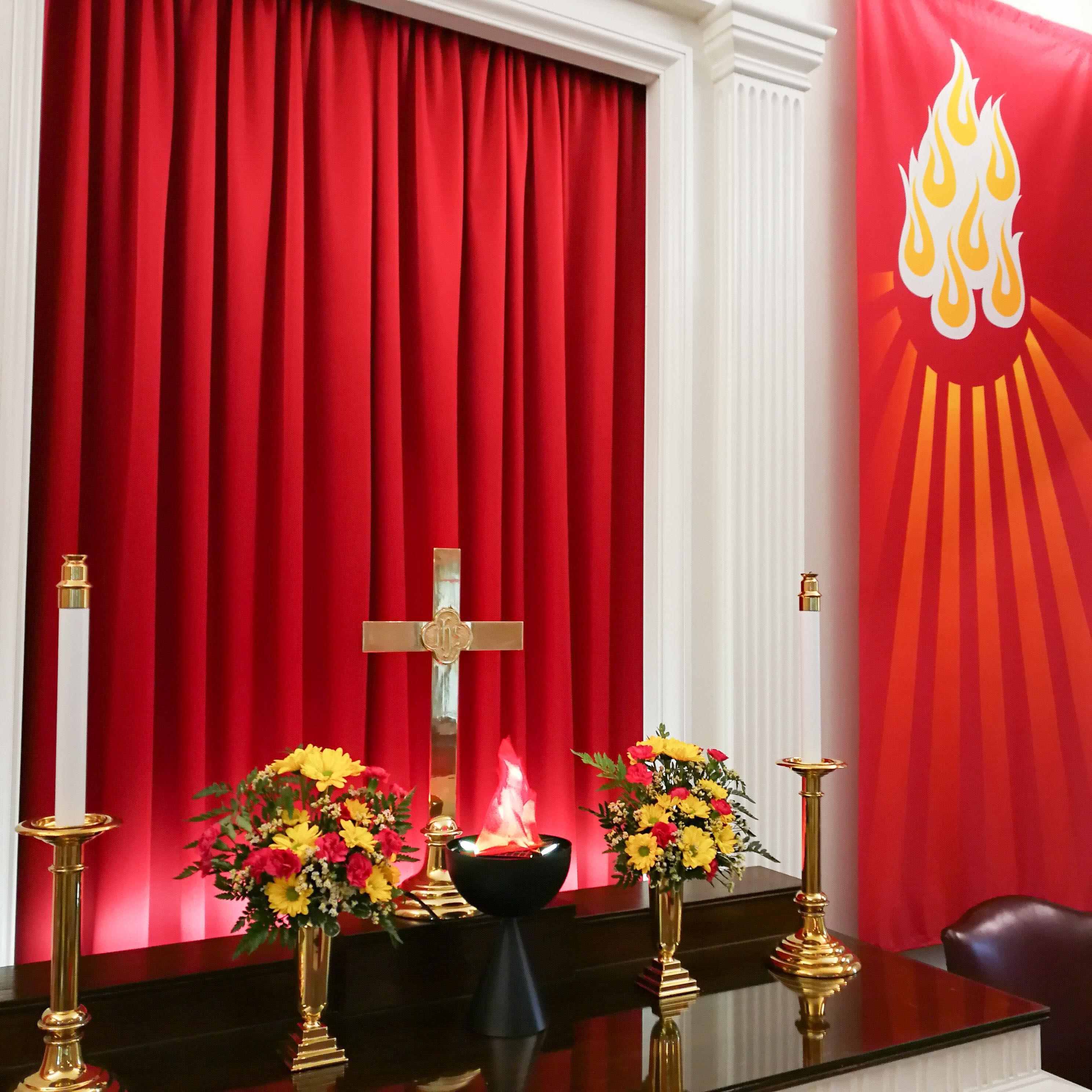 Altar close-up