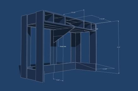 Pallet Desk Blueprint