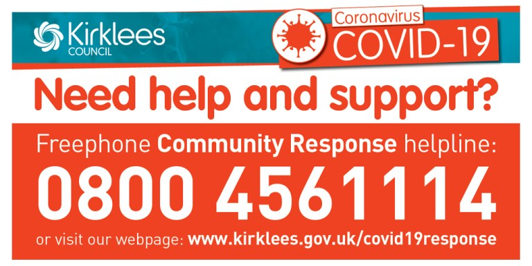 Freephone Covid-19 Community Response helpline