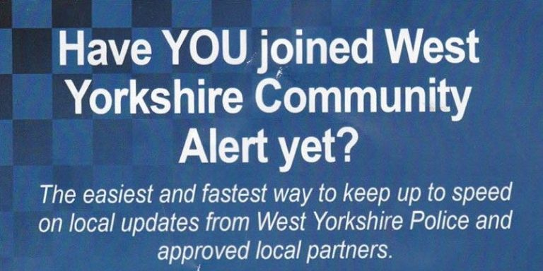 West Yorkshire Police Community Alert