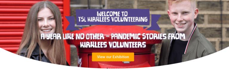 Volunteering stories online exhibition