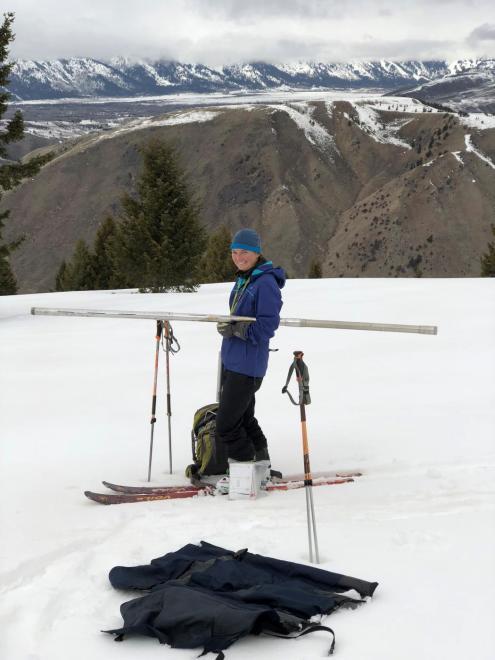 fieldwork on snow