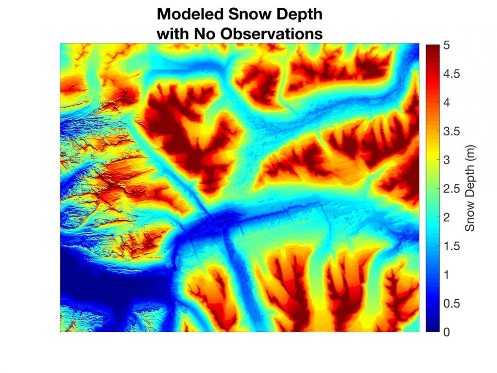 snow depth image