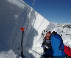 doug chabot in snowpit