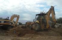 Construction Under Rail Road
