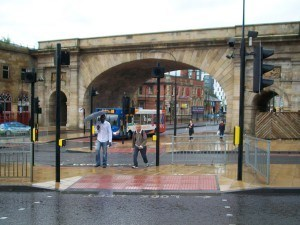 The Wicker Arches, from Spital Hill