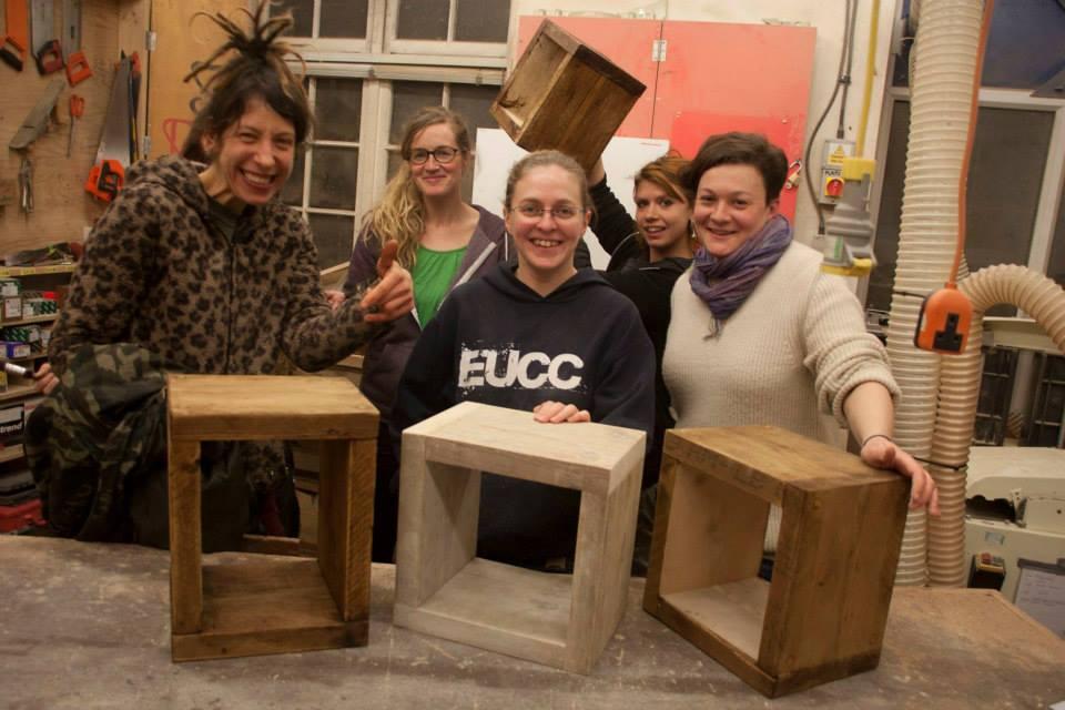 Community Wood Recycling; Leeds Wood Recycling; Womens Workshop