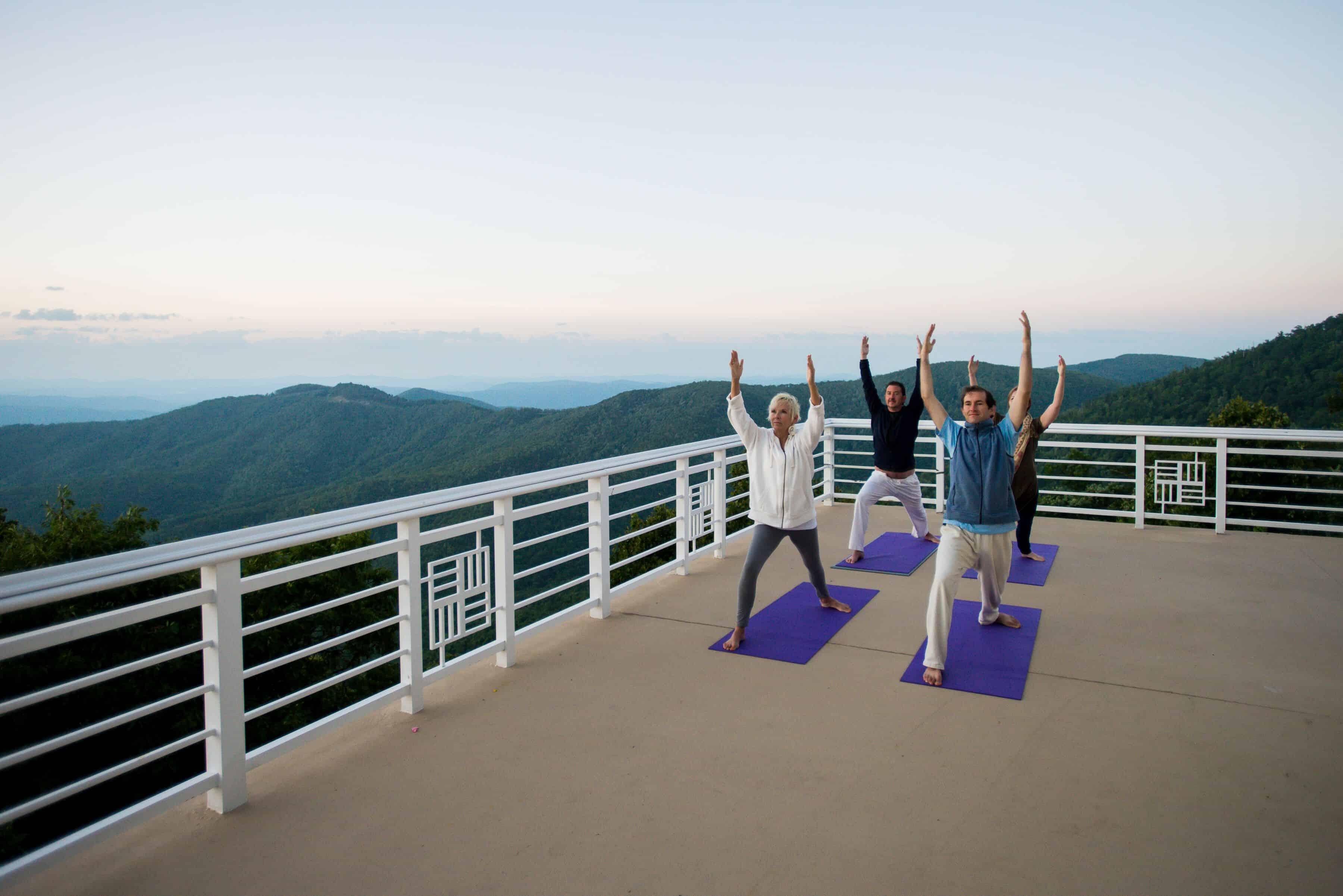Art of Living Balcony Yoga