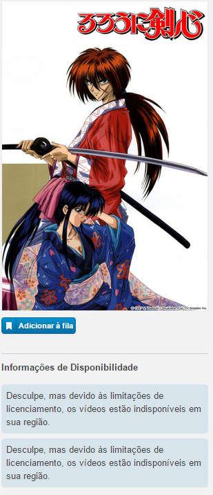 Rurouni Kenshin Crunchyroll