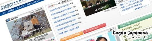 Nhk áudio e vídeo japonês