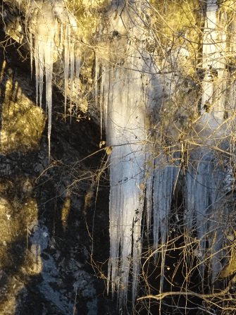 8. Icicles on the Bottino waterfall