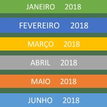 Quadro de Filhotes 2018