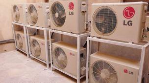 Descarte de aparelhos de ar condicionado