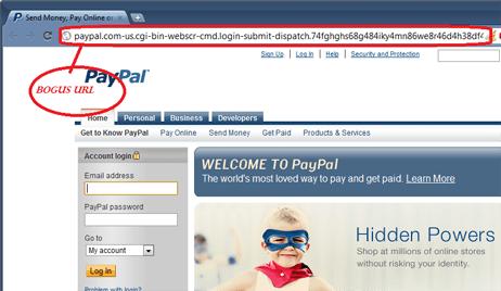 Мошенничество с фишингом Paypal